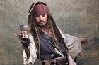 Johnny Depp in the movie 'Pirates of the Carribean: Stranger Tides'. Photo / Supplied