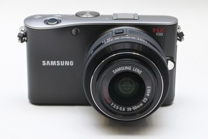 Samsung NX100 digital camera. Photo / Natalie Slade