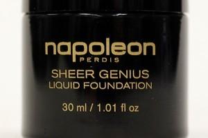 Napoleon Perdis Sheer Genius Liquid Foundation $74.50. Photo / Sarah Ivey