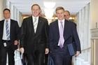 Prime Minister John Key and Finance Minister Bill English. Photo / Mark Mitchell