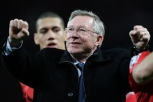 Sir Alex Ferguson has taken Manchester United to the top of the English game, establishing them as the team to 'knock off its perch'. Photo / AP 