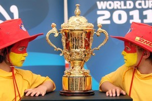 The Government seems to be counting on the Rugby World Cup to be an economic lifesaver. Photo / APN