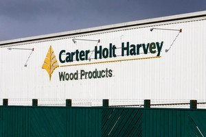 The Carter Holt Harvey Sawmill at Putaruru. Photo / Sarah Ivey