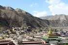Xiahe's existence is largely dependent on the Labrang 