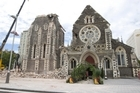 The Christchurch Cathedral. Photo / Mark Mitchell