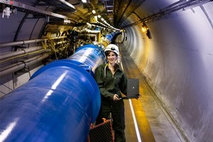 CERN says the Large Hadron Collider will have found the Higgs boson, if it exists, by the end of next year. Photo / Supplied