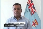 """Lt Col Mara's YouTube video is strongly critical of Fiji's attorney-general Aiyaz Khayum, and said Cdre Bainimarama """"is no more than Aiyaz Khayum's hand-puppet""""."""