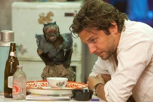 Bradley Cooper and the controversial monkey in The Hangover 2. Photo / Supplied