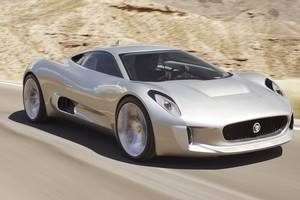 The Jaguar C-X75's engine will likely be based on the the 400kW 1.6 being developed by the Williams F1 team. Photo / Supplied