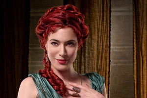Actress Jaime Murray gets up close and personal with many in 'Spartacus: Gods of the Arena'. Photo / Supplied