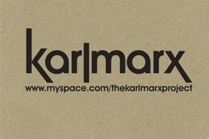 Album cover for The Karlmarx Project. Photo / Supplied