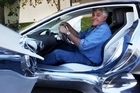 Jay Leno has a look over Jaguar's C-X75 concept - which is now heading for production.