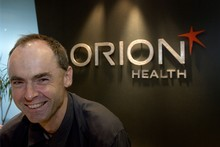Orion Health chief executive Ian McCrae. Photo / Kenny Rodger