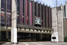 The Christchurch Town Hall won't be open until at least end of 2012. Photo / Supplied