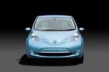 Nissan's all-electric Leaf. Photo / Supplied