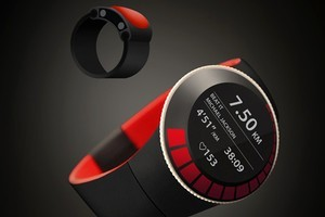 The Beat concept watch is designed to create an exercise experience.