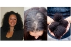Kirstine Morris suffered major hair loss after a straightening treatment in a hair salon. Photos / Supplied, Greg Bowker