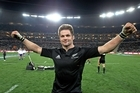 Richie McCaw is putting the All Black jersey before the bank account which will still contain a tidy sum. Photo / Getty Images