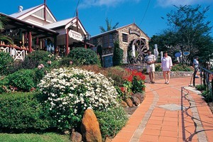 Art galleries, jewellery stores and cafes line the character-filled hidden alleyways of Montville. Photo / Supplied