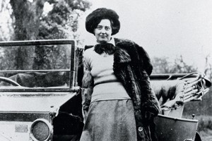 Eleanor Thornton, Lord Montagu's lover, was the inspiration for the Whisper and the Spirit of Ecstasy. Photo / Supplied