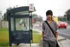 Fraser Bennett, 12, was left to walk home after he ran out of money on his bus card. Photo / APN