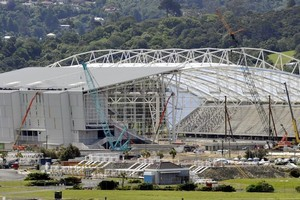 Forsyth Barr Stadium Dunedin. Photo / Otago Daily Times