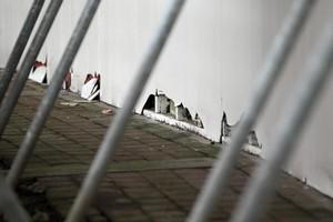Mt Smart Stadium in disrepair. Photo / Doug Sherring
