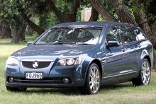 Holden Calais Sportwagon - big, powerful and, of course, V8-thirsty. Photo / Supplied