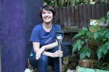 Gardener and Author Xanthe White. Photo / Supplied