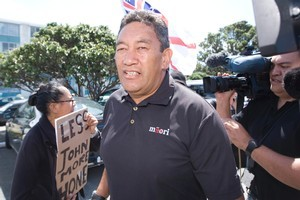 Waihoroi Shortland says Harawira (pictured) would manipulate the electorate to serve his own ends. Photo / Mark Mitchell