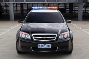 The Holden US Police Car. Photo / Supplied