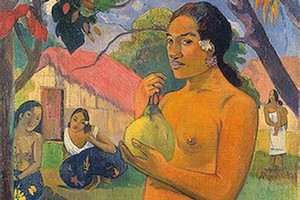 Paul Gauguin chose French Polynesia as the place in which to develop his creative voice and his depictions of women did not conform to the European ideals. Photo / Supplied