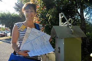 The massive task of getting census forms out to everybody in the country has been put off for two years. Photo / Sarah Hardie/Wairarapa Times-Age