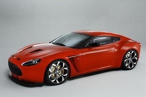 The Aston Martin V12 Zagato was unveiled in Italy last week. Photo / Supplied