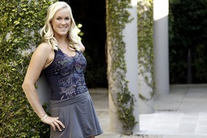 Champion surfer Bethany Hamilton, (played by AnnaSophia Robb in Soul Surfer) wants to inspire people. Photo / AP