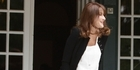 Watch: Pregnant Carla Bruni welcomes G8 wives