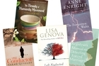 Five of May's literary picks. Photo / Supplied