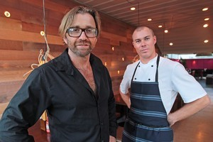 Mark Wallbank and Che Barrington offer traditional Thai cuisine with a modern twist at MooChowChow. Photo / Doug Sherring