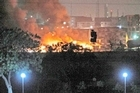 Militants attacked a naval aviation base in Karachi, Pakistan on Sunday. The total number of casualties was unclear.