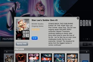 The Stan Lee BOOM! Comics App. Photo / Supplied