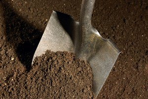A Russian man has died after spending the night buried in his garden. Photo / Thinkstock