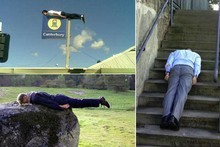 Planking has taken the Internet by storm. Photo / Supplied 