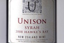 Unison Hawkes Bay Syrah 2008 $40.50-$45. Photo / Babiche Martens