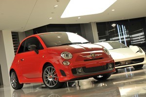 Fiat Abarth 695, featuring a 1.4-litre Turbo T-Jet engine is small, but gutsy. Photo / Supplied