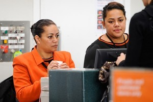 Jetstar are now charging a service fee for using physical check-in. Photo / Jason Dorday.
