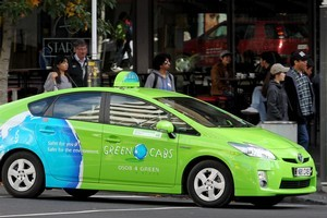 Green Cabs must pay $6300 for breaking the rules. Photo / Greg Bowker