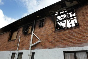 The house's owners say the double-calamity has 'almost destroyed the family'. Photo / Brett Phibbs