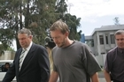 Glenn McNeill (right) says he dumped the body. Photo / APN
