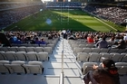 There will be empty seats at some venues, but Eden Park should be full. Picture / Richard Robinson
