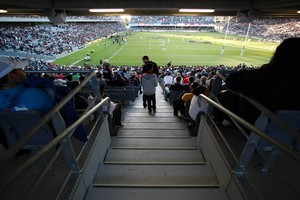 The new East Stand at Eden Park. Photo / Richard Robinson